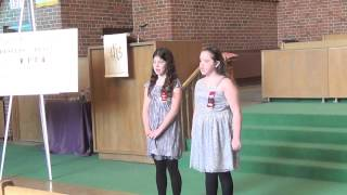 Festival 2014 - Briana & Kennedy - Down In The Valley To Pray (duet)