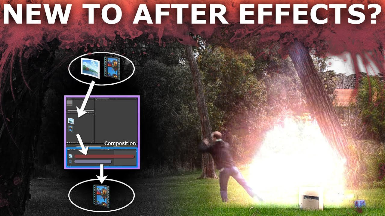 After effects basic beginners tutorial 18 how to create cool after effects basic beginners tutorial 18 how to create cool vfx youtube baditri Image collections
