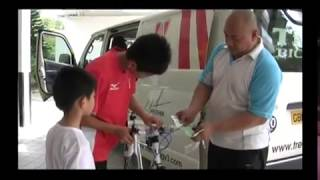 LIOW VIDEO -- MY SON RECEIVED HIS BIRTHDAY PRESENT (TREK BICYCLE)