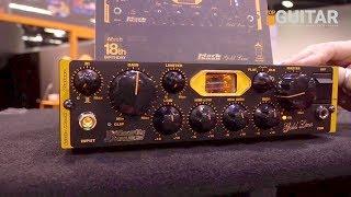 NAMM 2019 - New Bass Amp, Tube Compressor and Bass Guitars from Markbass