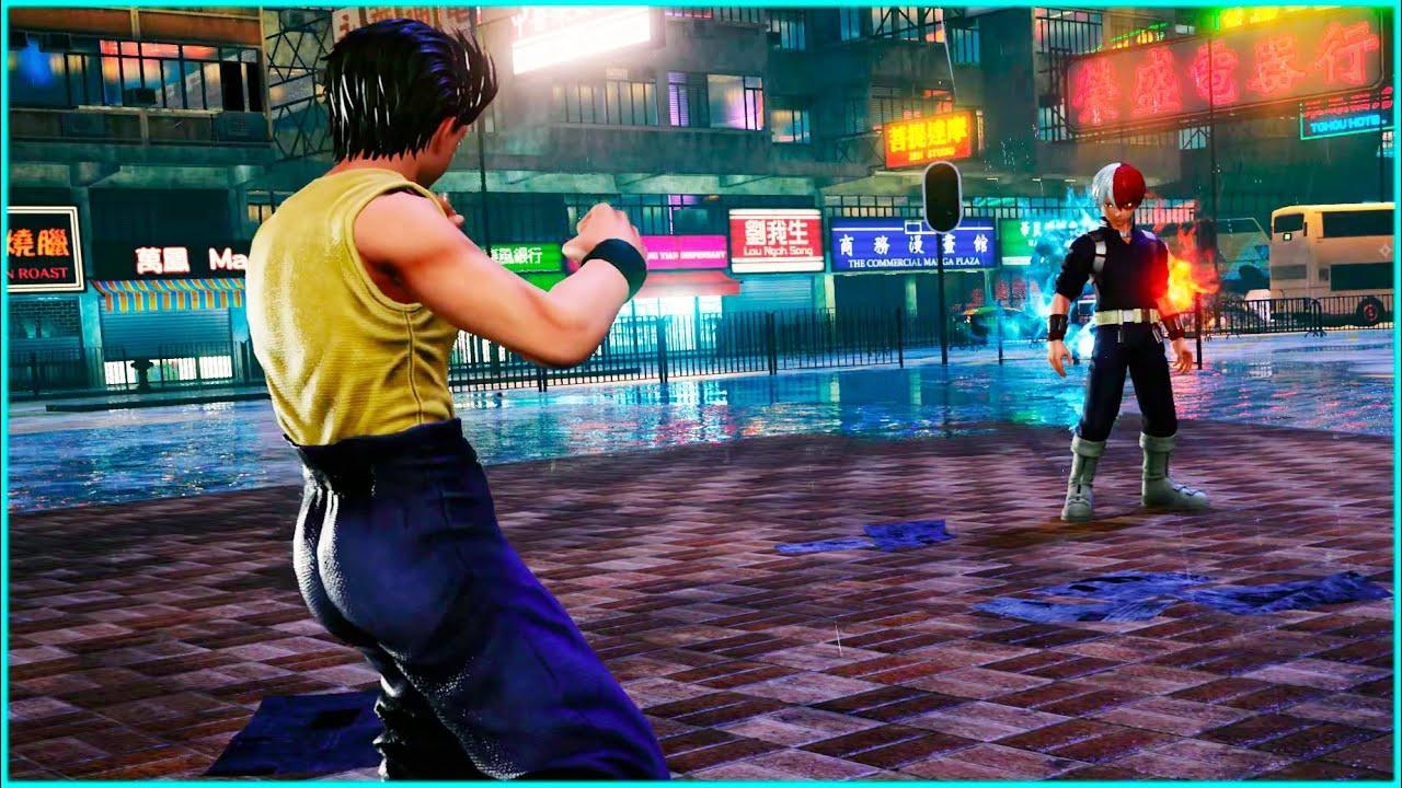 Todoroki Meets Yusuke   Jump Force Game