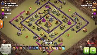 Clash of clans clan war th8 gowipe