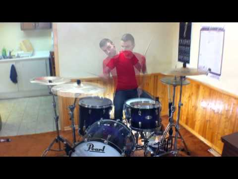 Underoath - llluminator - HD MultiAngle Drum Cover - Chris T