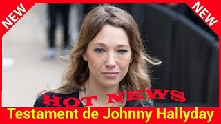 Testament de Johnny Hallyday : les messages des avocats de Laura Smet dévoilés