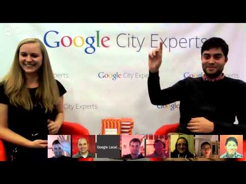 Let's Talk About Food! Google City Experts Hangout on Air with Seb Emina
