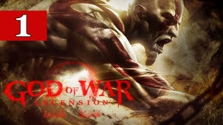 vuclip God of War Ascension Gameplay Walkthrough Part 1 - Pimp Hand STRONG - Lets Play Commentary GIVEAWAY