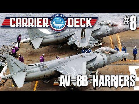 Carrier Deck #8 Massive Enemy Air Force & AV-8B Harrier Inbound