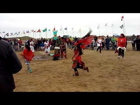 Aztec Dancers at Standing Rock..