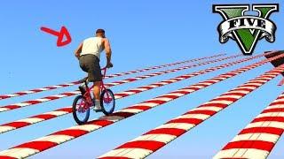 """GTA V Online: A RETA """"SLOW DOWN"""" muito ÉPICA DE BMX!!!"""