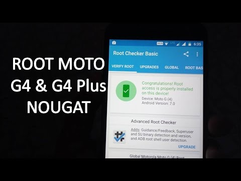 How to Root Moto G4 Plus Nougat | Using TWRP | Without PC