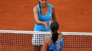 Sorana Cirstea vs Jelena Jankovic 2009 RG Highlights