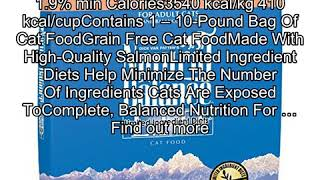 Natural Balance L.I.D. Limited Ingredient Diets Dry Cat Food, Grain Free, Green Pea & Salmon Formul