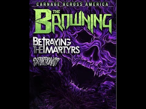 The Browning announce U.S. tour with Betraying The Martyrs and Extortionist