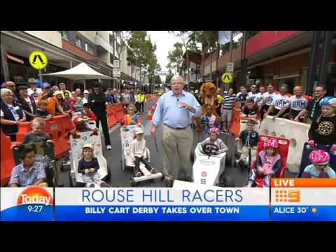 The 5th Annual Rouse Hill Billy Cart Derby at Rouse Hill Town Centre