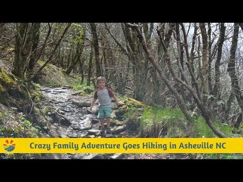 Hiking With Kids By Asheville North Carolina
