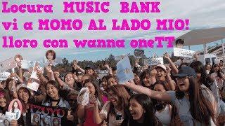EXPERIENCIA MUSIC BANK CHILE, VI A MOMO DE CERCA! LA TV COREANA AQUI?
