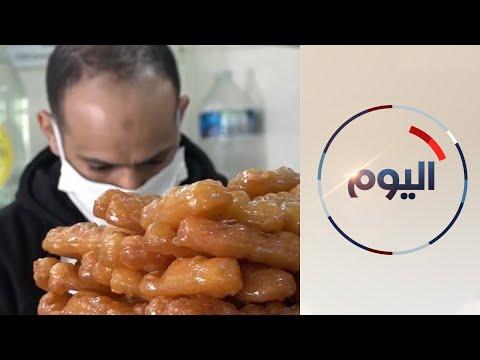 المسلمون في فرنسا يتسوقون من متاجر عربية لتوفير احتياجات شهر رمضان