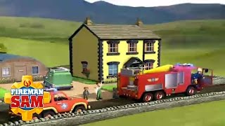 Fireman Sam Official: Fire at the Flood House