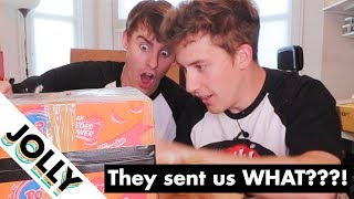 INDOMIE SENT US A BOX OF SECRET GOODS!?!? (Not an ad😂)