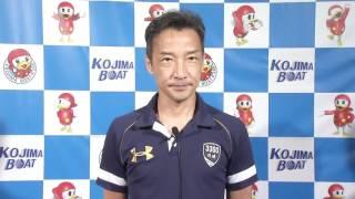 第34回天領杯 ドリーム戦3号艇 川崎 智幸