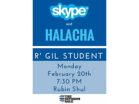 Skype and Halacha