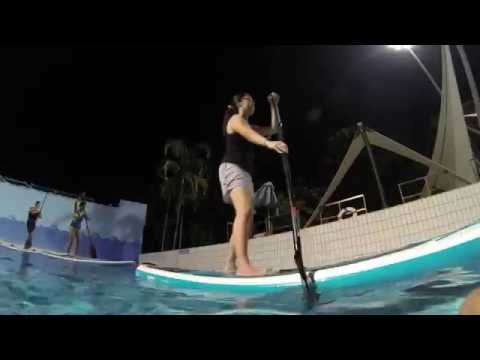 Learn Stand Up Paddle Singapore | ActiveSG SUP With Outer Quadrant