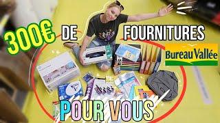 ÉNORME CONCOURS : votre chasse aux fournitures scolaires !! ????