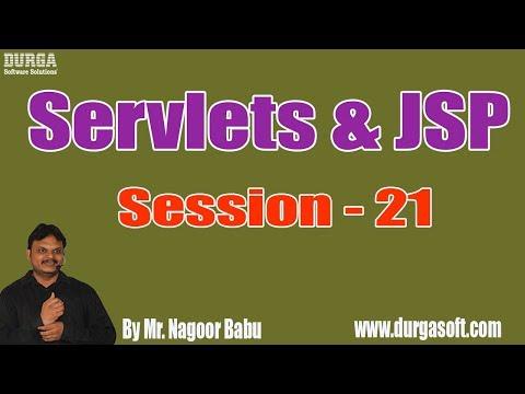 servlets-&-jsp-online-tutorials-||-session---21-||-part---2-||-by-nagoor-babu-on-13-08-2019-@-4:30pm