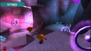 Pac-Man World 3 (PSP) Walkthrough - 03 - The Spectral Cliffs