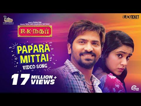 papara-mittai-video-song-|-r-k-nagar-|-premgi-amaran-|-vaibhav-|-sana-althaf-|gana-guna-|-tamil-gana