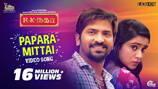 Papara Mittai Video song | R K Nagar | Premgi Amaran | Vaibhav | Sana Althaf |Gana Guna | Tamil Gana