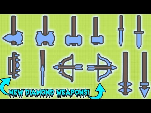 MOOMOO.IO NEW DIAMOND WEAPONS UPDATE! HOW TO GET THE NEW DIAMOND WEAPONS?!  (MooMoo.io)