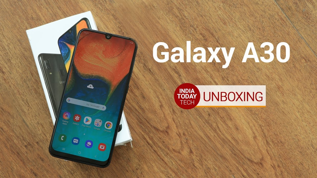 c8d2f855886 Galaxy A30 Unboxing and Quick Review