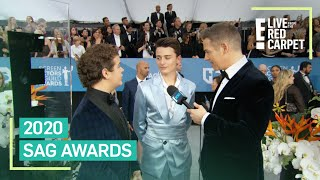 "Noah Schnapp & Gaten Matarazzo Keep Quiet About ""Stranger Things"" 