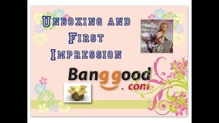 Diamond Painting Unboxing & First Impression - Wall of Roses - Banggood