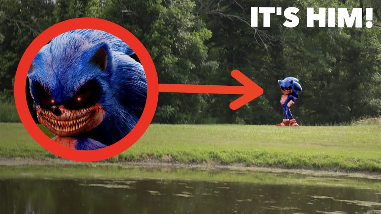 I FOUND SONIC.EXE IN REAL LIFE! *He Disappeared?!*