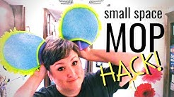 MOP IT UP! Small Space Cleaning Hack for RVs and Tiny Homes