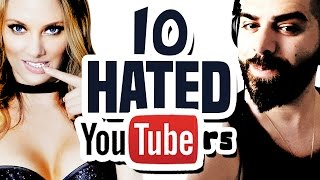 10 Most Hated YouTubers of 2016