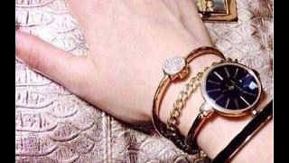 видео Модные женские часы - брендовые наручные часы - купить часы для девушки в интернет магазине