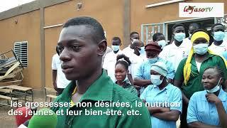 Santé sexuelle et reproductive: Le projet Adosanté présente ses acquis à travers une caravane