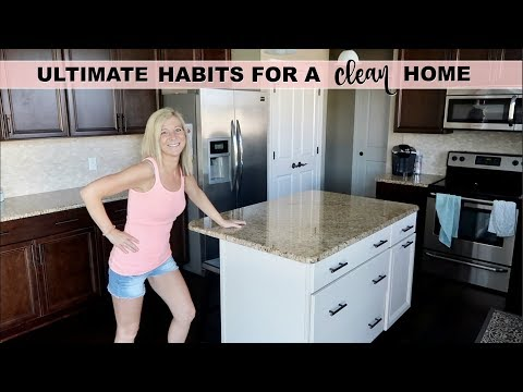HABITS TO KEEP A CLEAN HOUSE | 5 EVERYDAY HABITS TO KEEP YOUR HOUSE CLEAN  | DAILY CLEANING ROUTINE