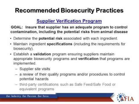 Mr. Gary Huddleston - Biosecurity in Feed Manufacturing