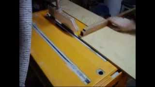 This Video Previously Contained A Copyrighted Audio Track. Due To A Claim By A Copyright Holder, The Audio Track Has Been Muted.     Triton 2000 Table Saw Wood Working