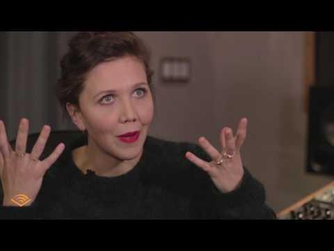 Behind the Scenes with Maggie Gyllenhaal,  Narrator of Anna Karenina