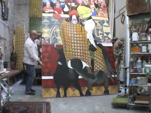 Peinture: Naissance d'une oeuvre - Albert Martin (7) - YouTube