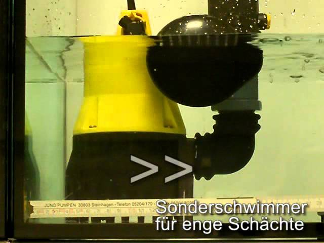 Jung Tauchpumpe Kellerentwässerungspumpe U 3 K Schmutzwasserpumpe JP00205