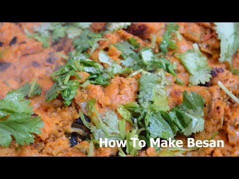How To Make Chick Pea Besan Curry Recipe | Culinary Virtuoso