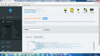 jsf primefaces 5.2 showcase basic component integration step by step