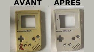 Console portable gameboy raspberry pi, partie 1 :  Comment déjaunir une gameboy