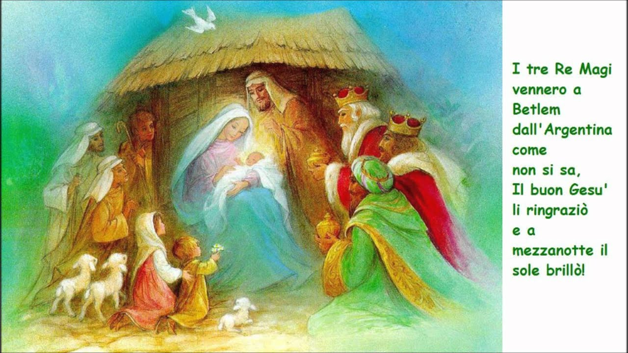 I Re Magi Zecchino Doro Los Reyes Magos Youtube